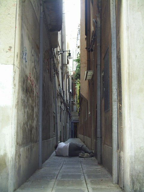 """Progetto """"Sdraiato"""" - Venezia 2005"""