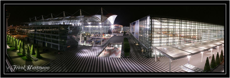 Projekt Flughafen Muc bei Nacht III