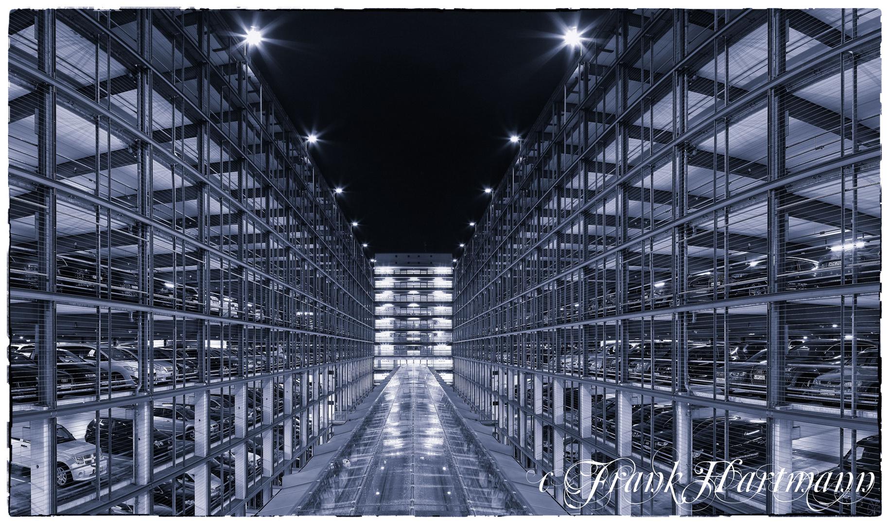 Projekt Flughafen Muc bei Nacht IV