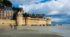 Promenade dans la baie du Mont Saint Michel-2-