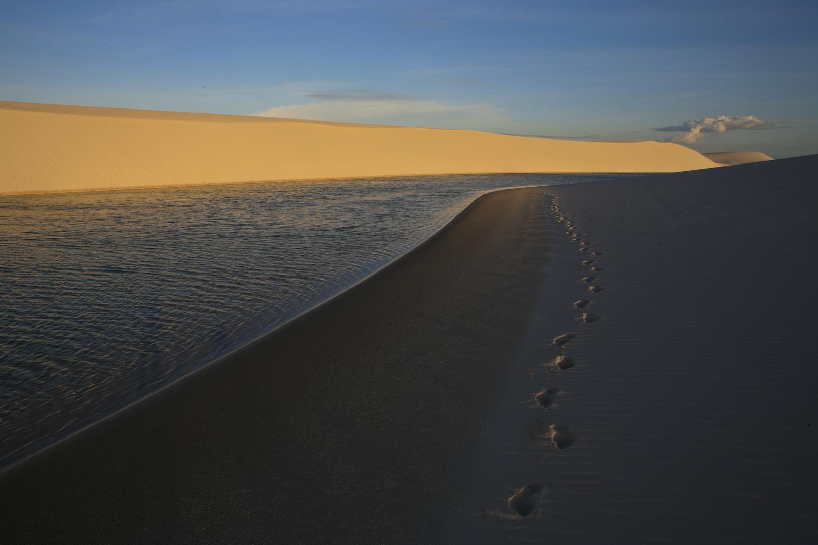 promenade dans les dunes de barreirinhas