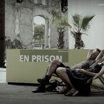 Promenade en prison