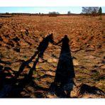 Promenade main dans la main
