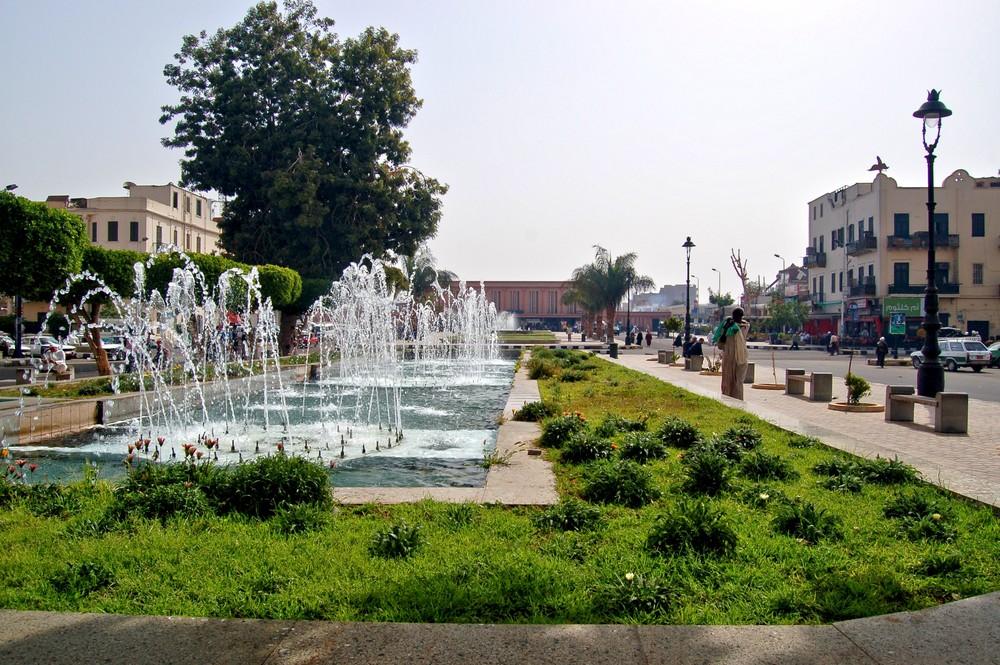 Promenade zum Bahnhof