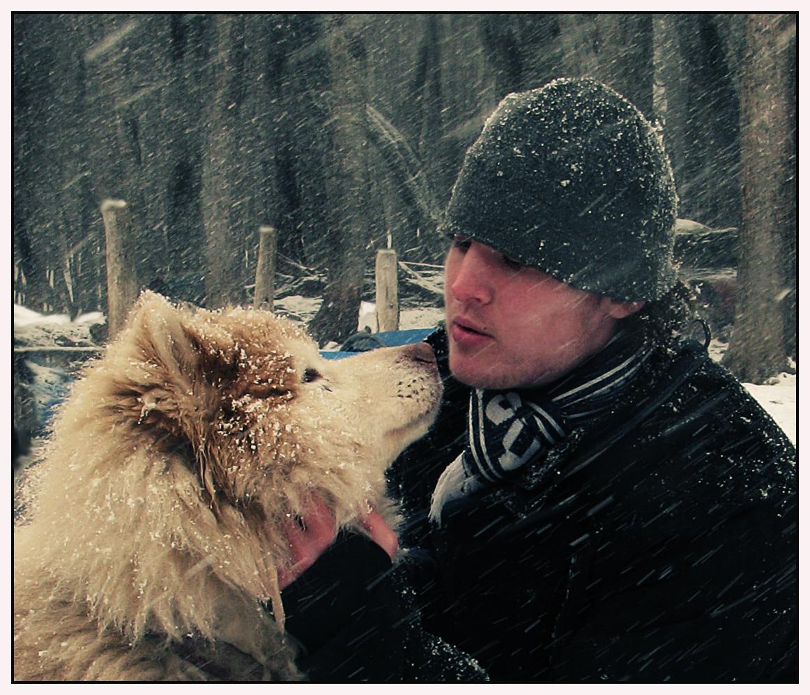 promesa en la nieve.