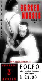 Promotionals per Broken Nurses band di M.Stuppiello con Lauretta Broken Doll