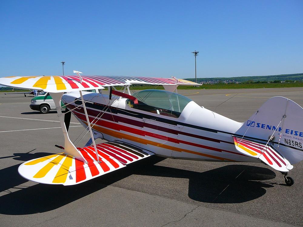 Propellermaschine Foto Bild Luftfahrt Oldtimer Flugzeuge