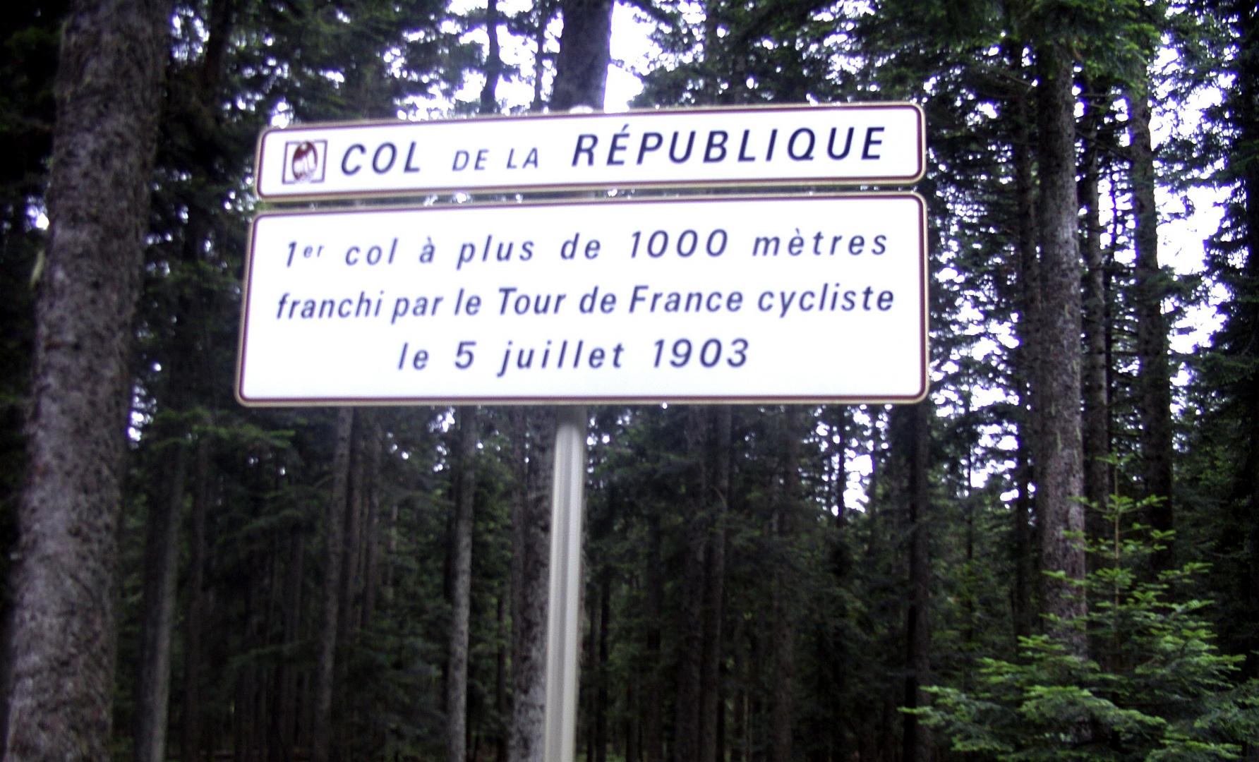 À propos Tour de France...