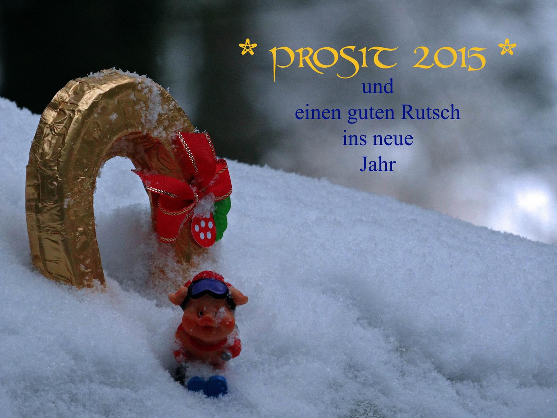 Prosit 2015 oder....