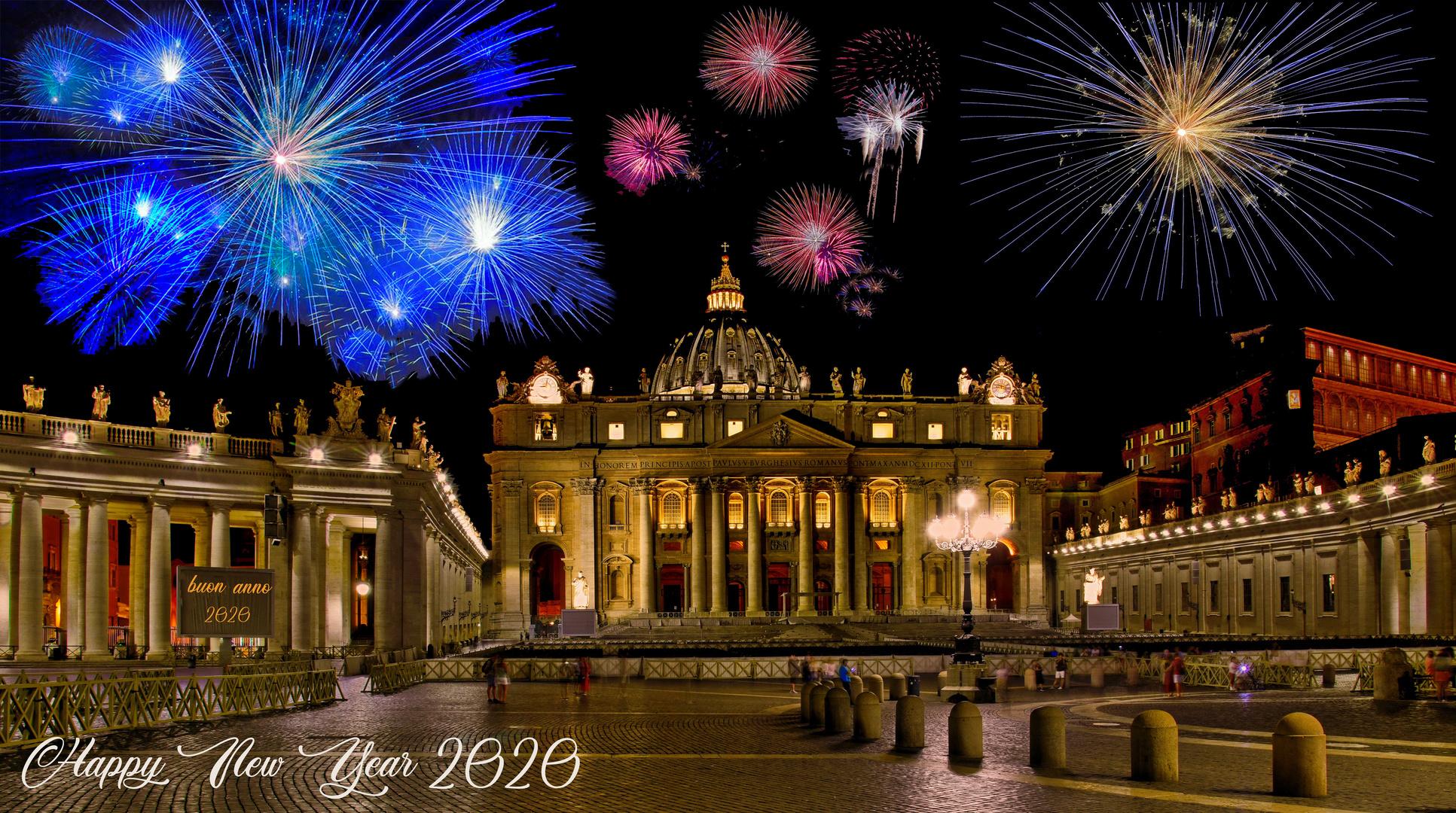prosit neujahr -- happy new year -- felice anno nuovo -- bonne année