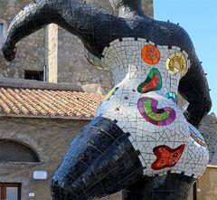 Prospettiva dell'artista Niki De Saint Phalle