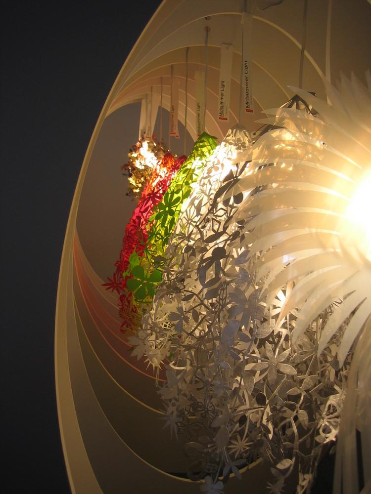 prospettiva di luci