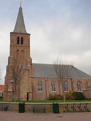 Protestantische Kirche (Protestantse Kerk) zu Domburg (Zeeland, NL)