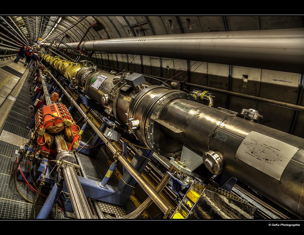 Protonenrennbahn