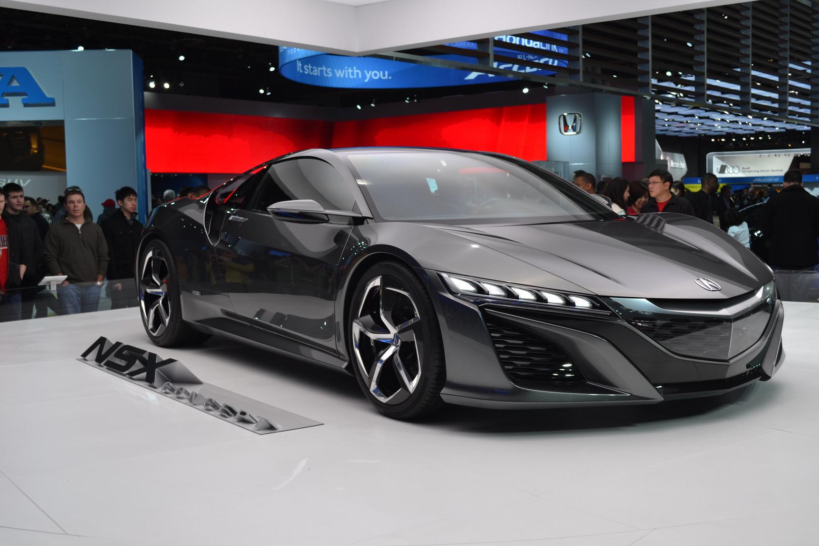 Prototype car Acura