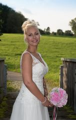 Proud bride