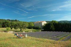 Provence - bei Bonnieux