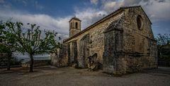 Provence - Kirche von Lacoste