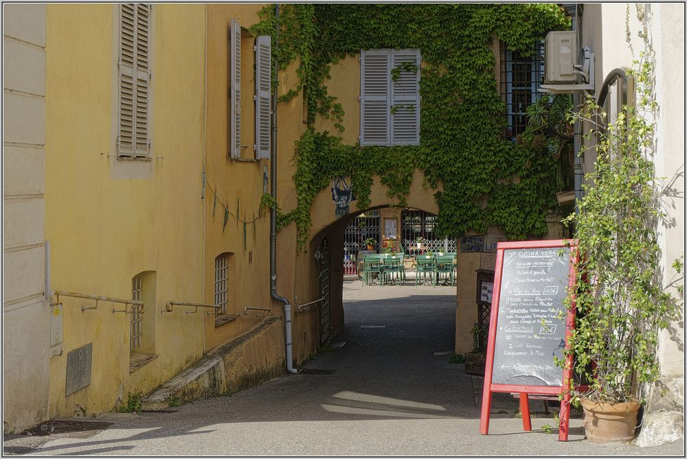 Provenciale Passage in Biot