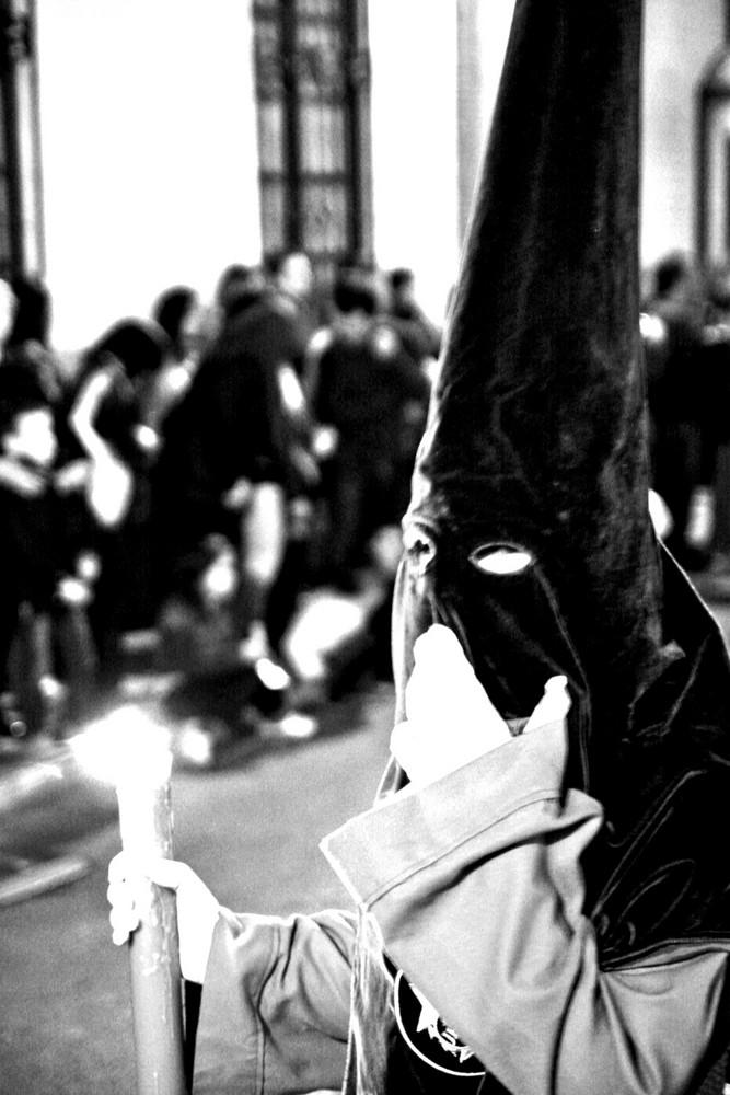 Prozession in der Semana Santa, Ronda, Andalusien