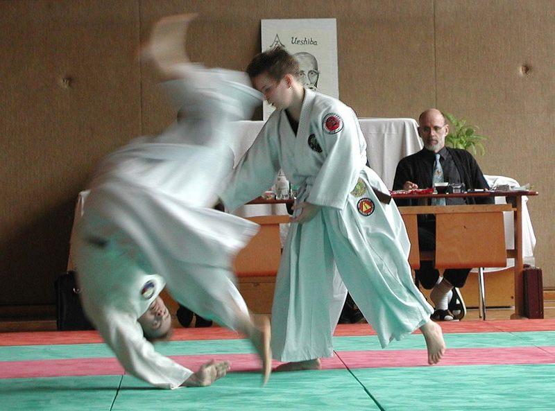 Prüfung zum 1. Dan Aikido