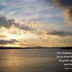 Psalm 113, 3...Vom Aufgang der Sonne ...