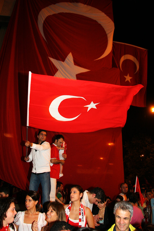Public Viewing in der Türkei