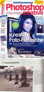 """Publikation von """"Am Strand"""" in der """"Photoshop Creative"""" 07.2009"""