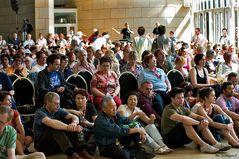 Publikum im Landtag NRW