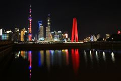 Pudong am Abend