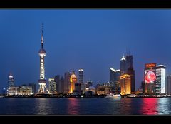 Pudong Skyline - Blue Hour