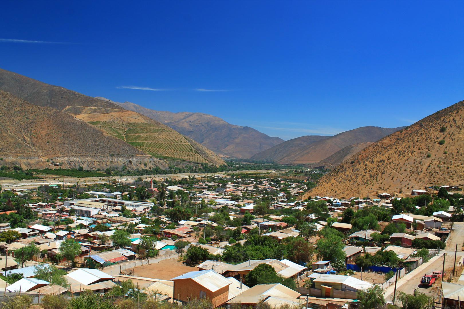 pueblo de petorca..chile