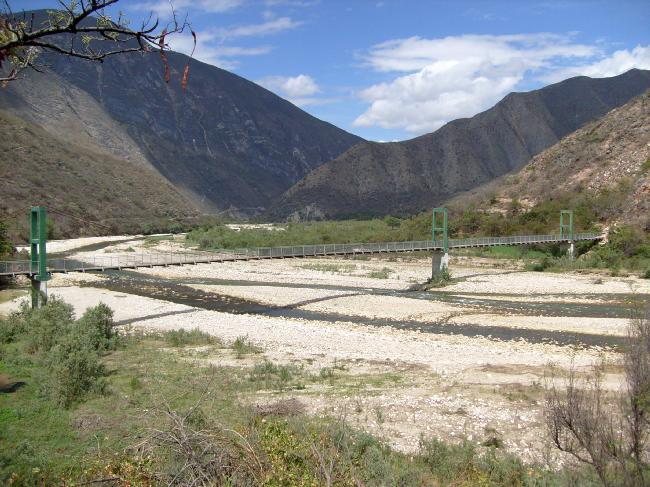 Puente Catagón San Marcos Cajamarca