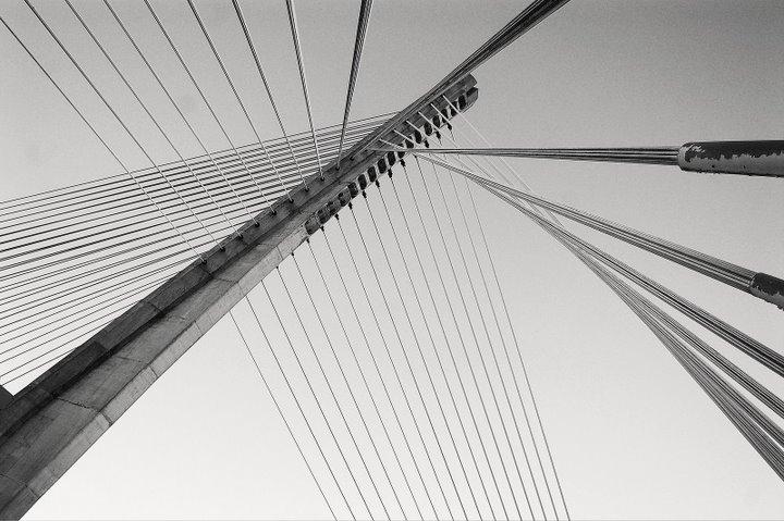 puente de los tirantes.Pontevedra