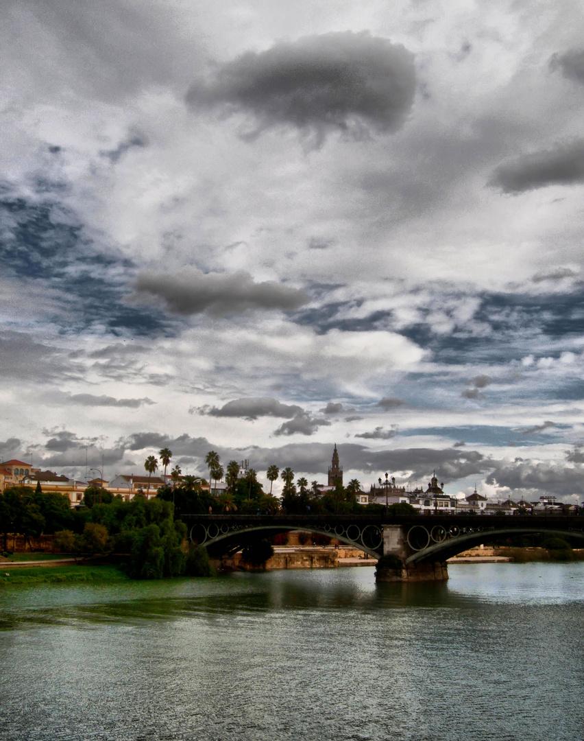 Puente de Triana en diciembre