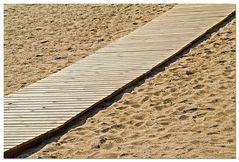 Puente en la arena (Brücke im Sand)