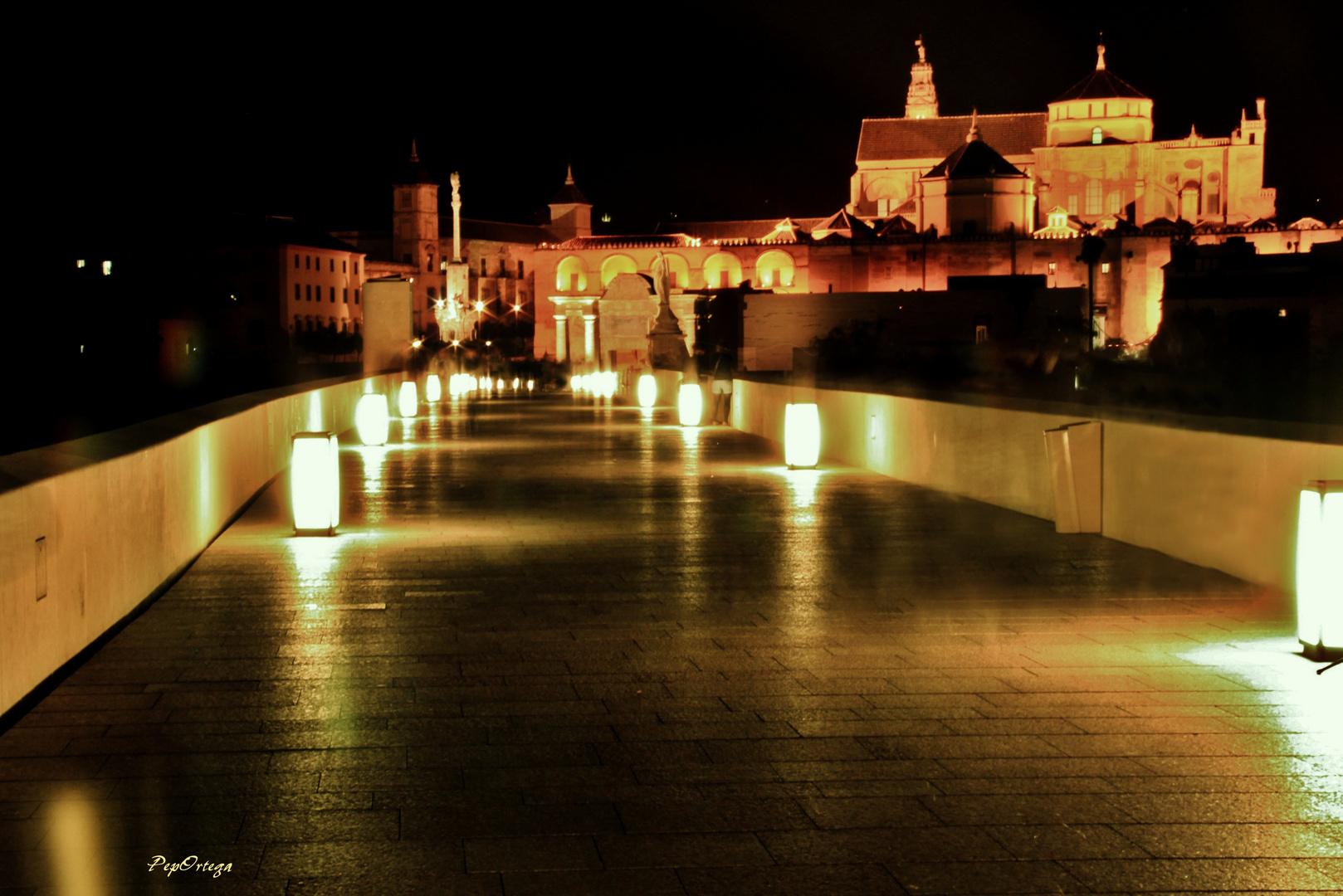 Puente Romano con Mezquita, Córdoba
