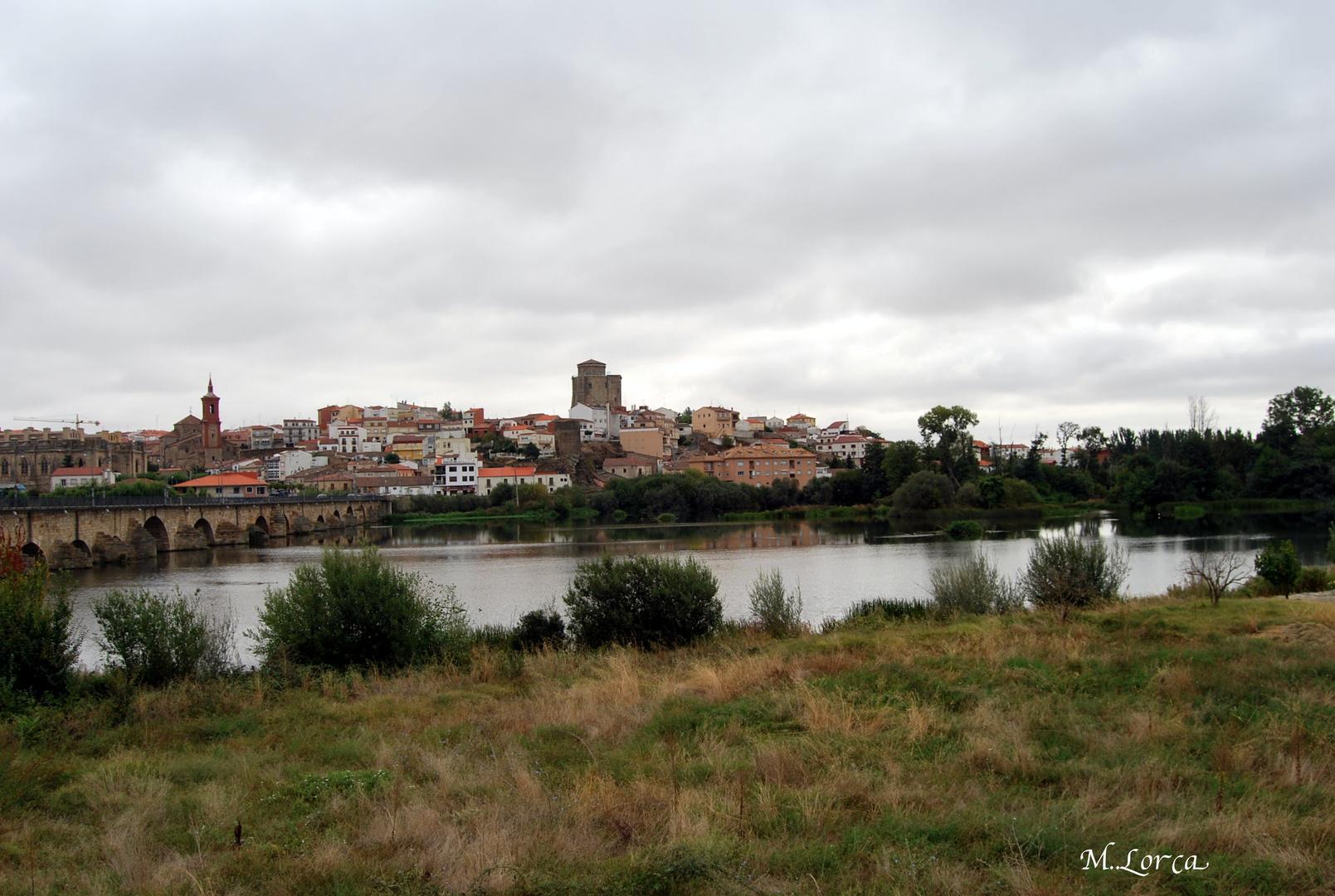 Puente sobre rio Tormes
