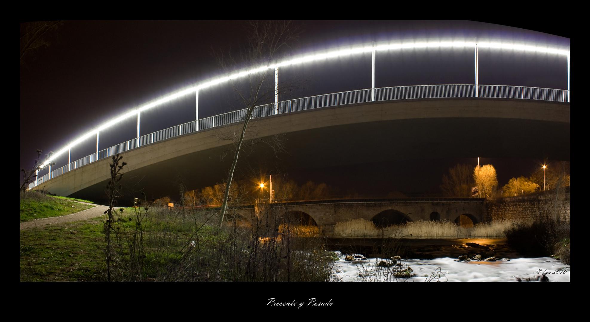 Puentes sobre el rio Henares. Guadalajara.