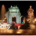 Puerta de Alcala y Cibeles Madrid
