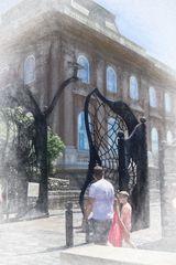 Puerta de hierro del Castillo de Buda