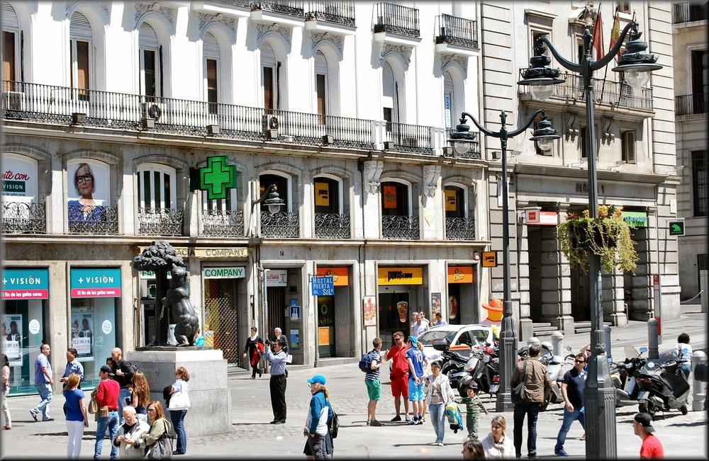 «Puerta del Sol»...when Madrid was clean.