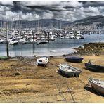 Puerto Lagoa...al lado de Vigo, en la Ría.