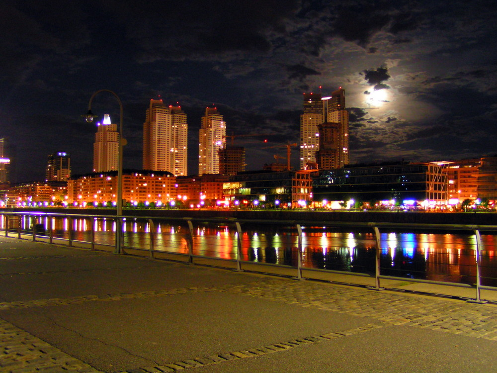 Puerto Madero by Night