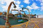 puerto muelle luanco