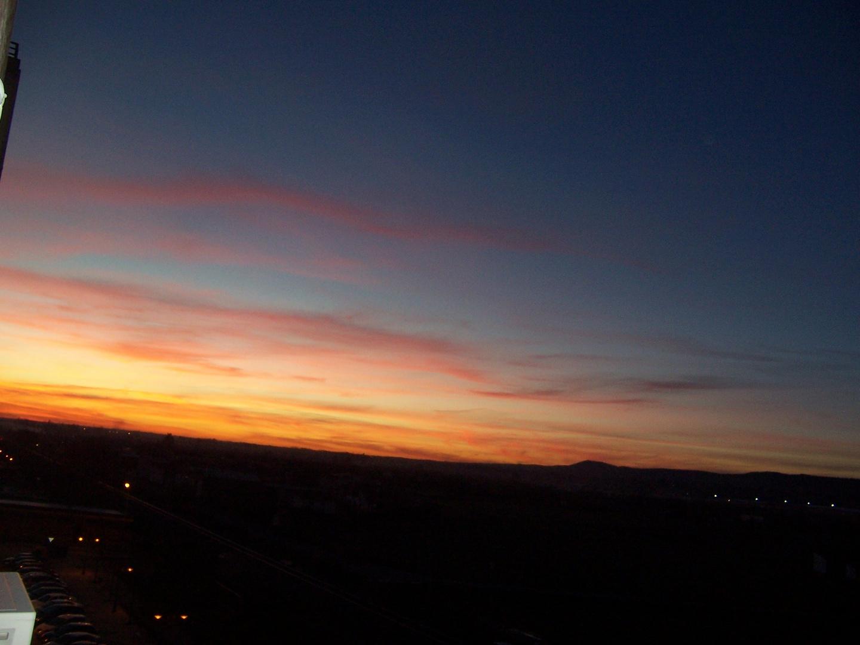 puesta de sol de el dia de navidad
