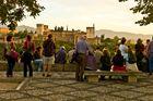 Puesta de Sol en el Mirador de San Nicolas, Granada