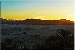 Puesta de sol en Fuerteventura