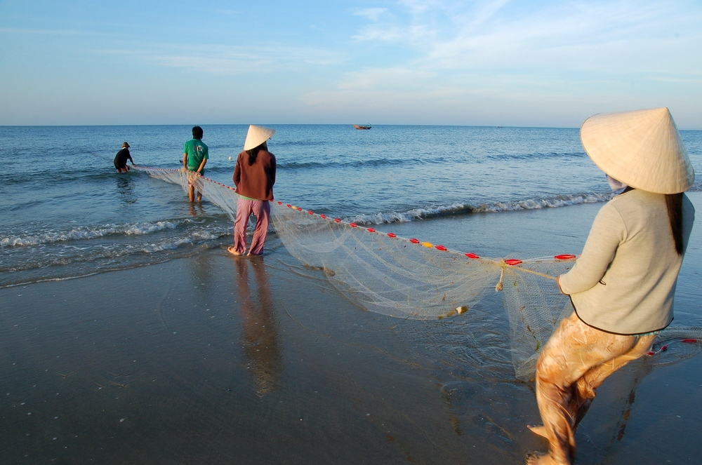 PULLING THE NETS