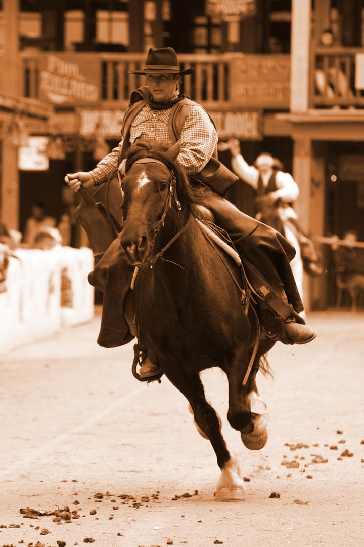 """PullmanCity's Western Show """"Buffalo Bill"""""""